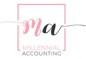 Millennial accounting logo