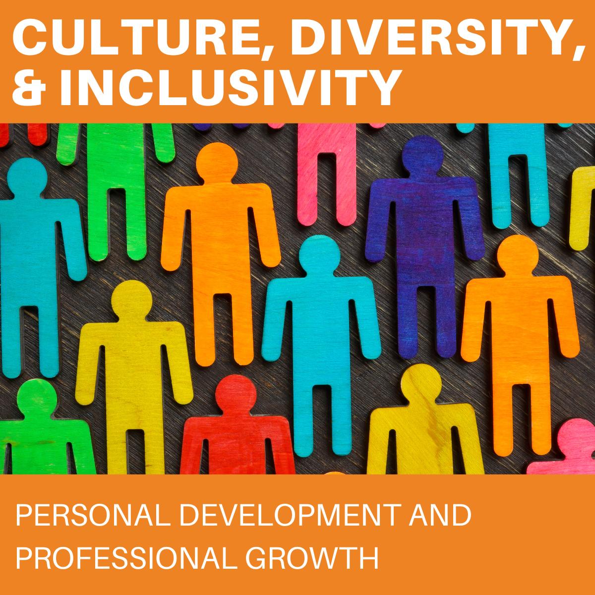Inclusion classes banner square rainbow