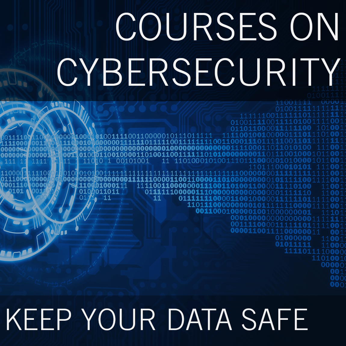 Cybersecurity classes banner square