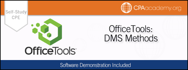 Dms officetools selfstudy