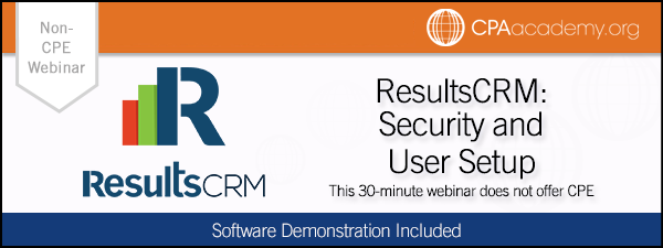 Security resultscrm